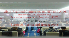 sixth regional conference on hiv and aids