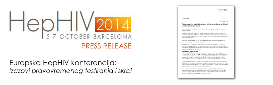 HepHIV 2014 conference press release