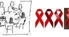 HUHIV Info šator Okrugli stol – Stigma nije dobar sudac