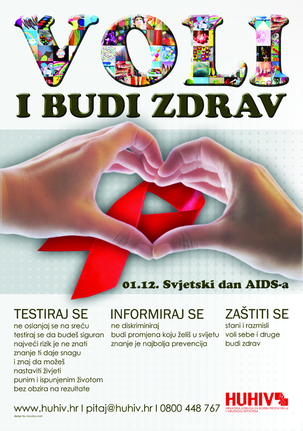 World AIDS day 2012. poster