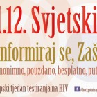 Prvi Europski tjedan testiranja na HIV povodom Svjetskog dana AIDS-a