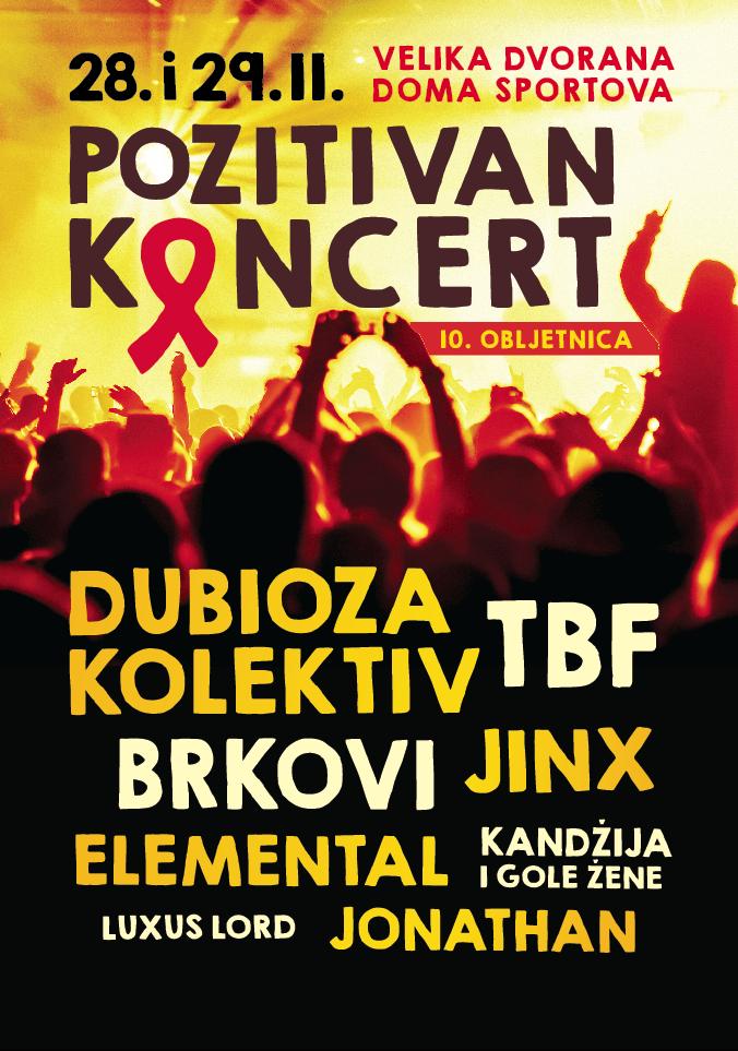 10. Pozitivan koncert
