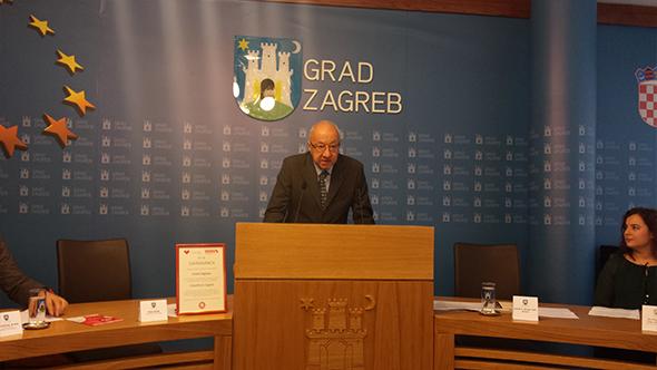 Grad Zagreb press Svjetski dan AIDSa
