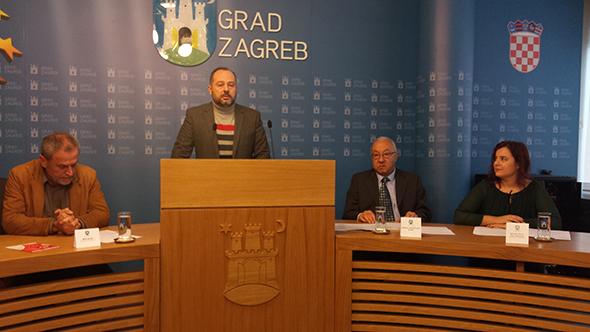 Grad Zagreb press konferencija